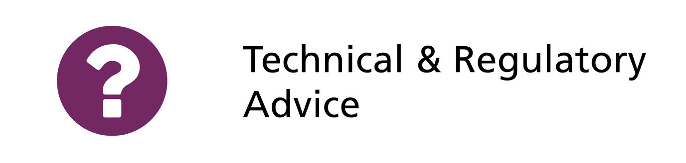 Technical & Legislative Advice