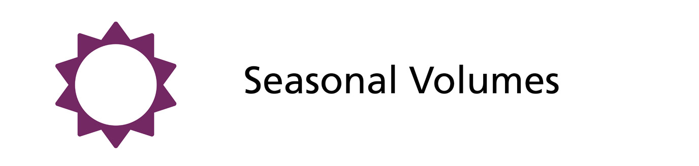 Seasonal Volumes
